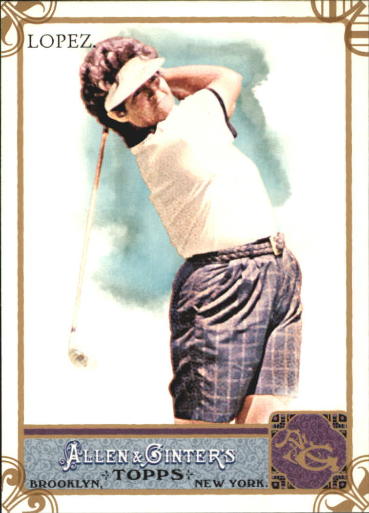 2011 Topps Allen and Ginter Code Cards #119 Nancy Lopez