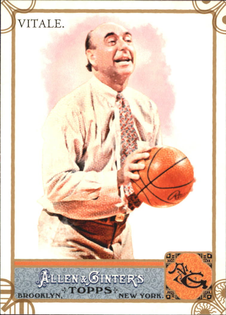 2011 Topps Allen and Ginter Code Cards #136 Dick Vitale