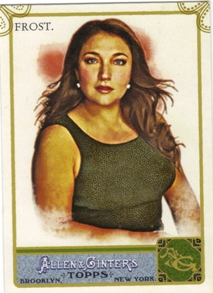 2011 Topps Allen and Ginter Code Cards #165 Jo Frost