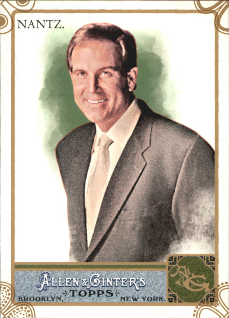 2011 Topps Allen and Ginter Code Cards #187 Jim Nantz