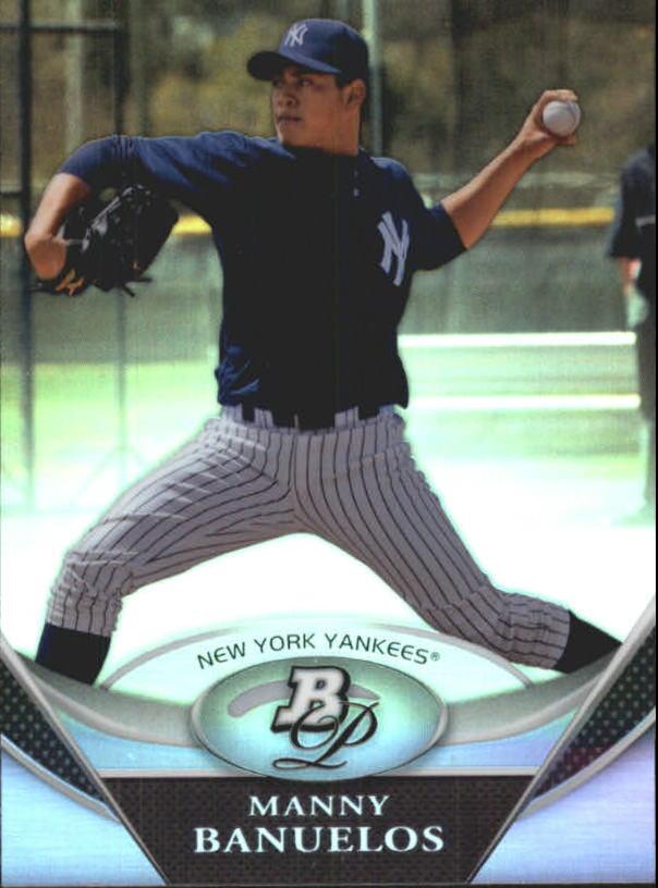 2011 Bowman Platinum Prospects #BPP29 Manny Banuelos