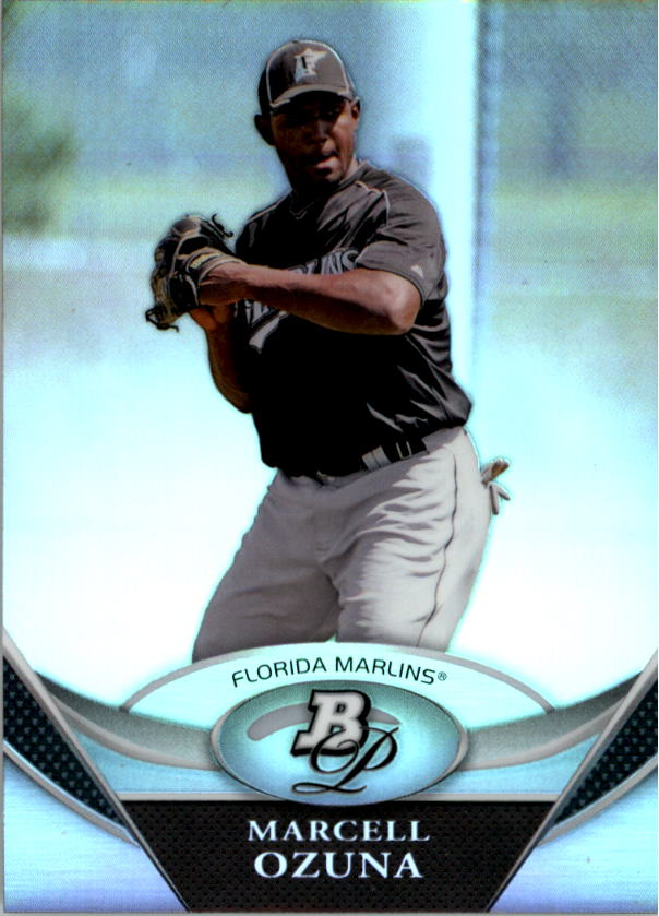 2011 Bowman Platinum Prospects #BPP88 Marcell Ozuna