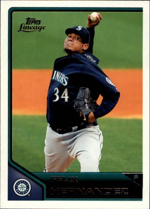 2011 Topps Lineage #5 Felix Hernandez