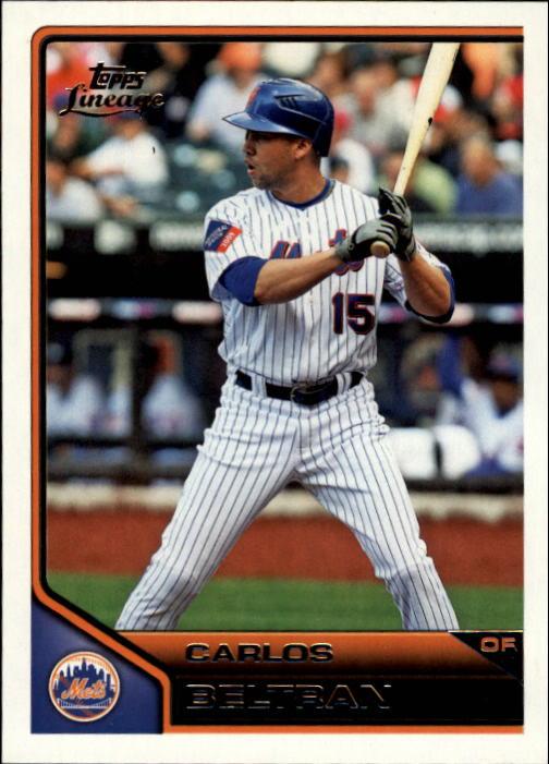 2011 Topps Lineage #6 Carlos Beltran