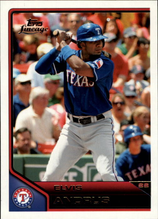 2011 Topps Lineage #12 Elvis Andrus