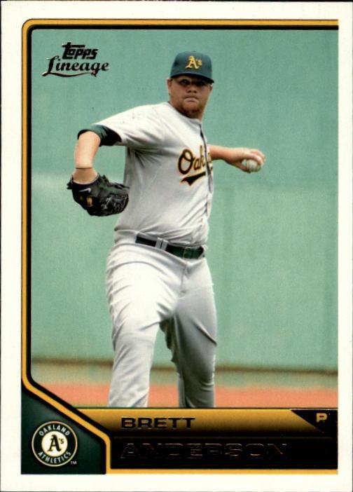 2011 Topps Lineage #18 Brett Anderson