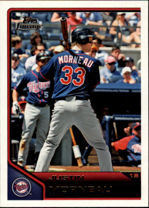 2011 Topps Lineage #20 Justin Morneau