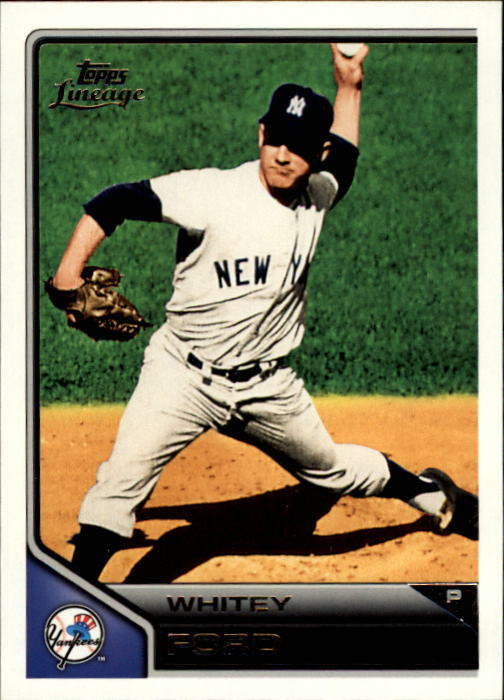 2011 Topps Lineage #25 Whitey Ford