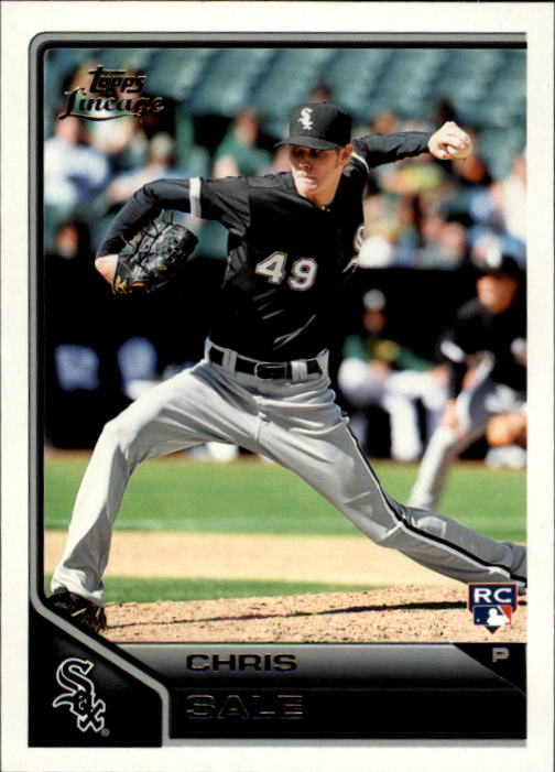 2011 Topps Lineage #29 Chris Sale RC