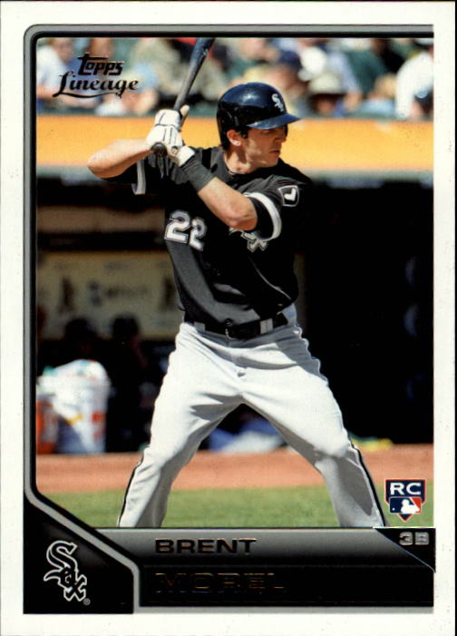 2011 Topps Lineage #91 Brent Morel RC