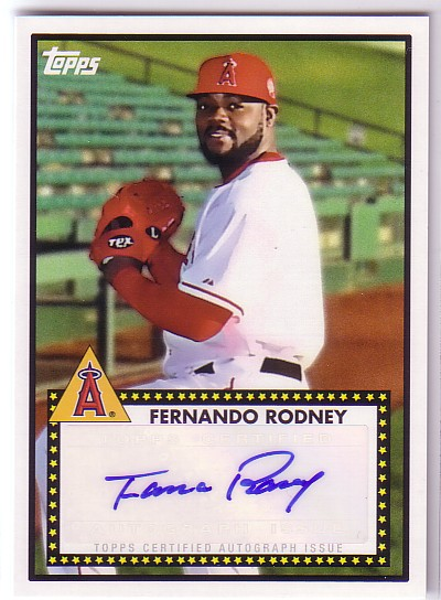 2011 Topps Lineage 1952 Autographs #52AFR Fernando Rodney
