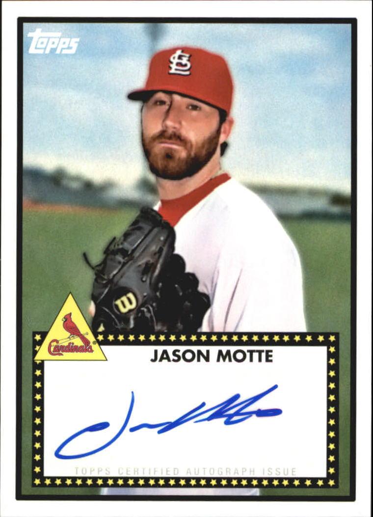 2011 Topps Lineage 1952 Autographs #52AJM Jason Motte