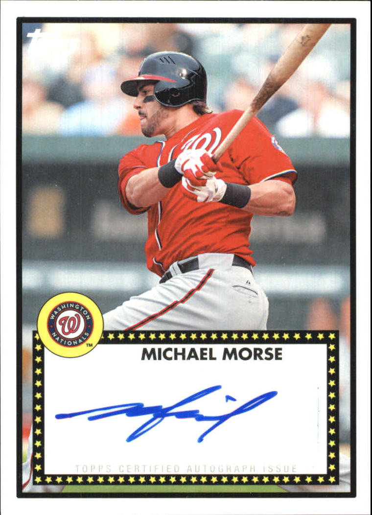 2011 Topps Lineage 1952 Autographs #52AMM Michael Morse