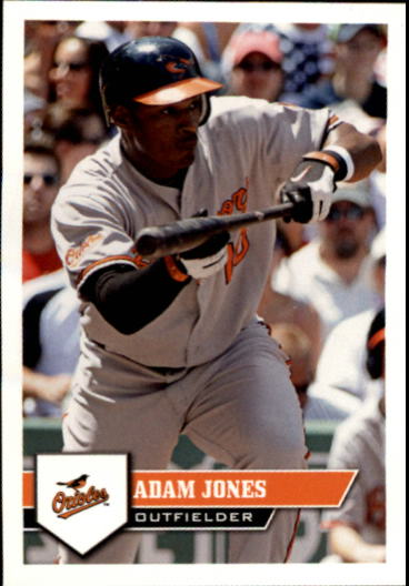 2011 Topps Stickers #2 Adam Jones