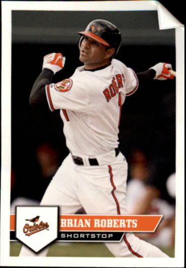 2011 Topps Stickers #6 Brian Roberts