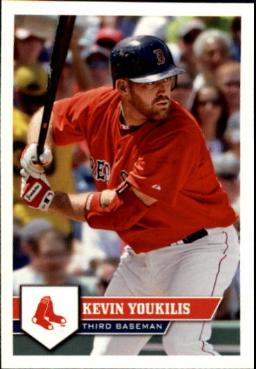 2011 Topps Stickers #13 Kevin Youkilis