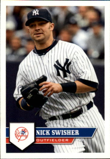 2011 Topps Stickers #21 Nick Swisher