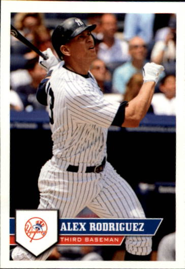 2011 Topps Stickers #22 Alex Rodriguez