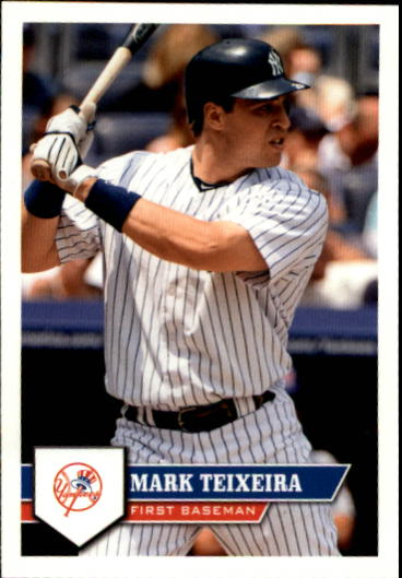 2011 Topps Stickers #25 Mark Teixeira