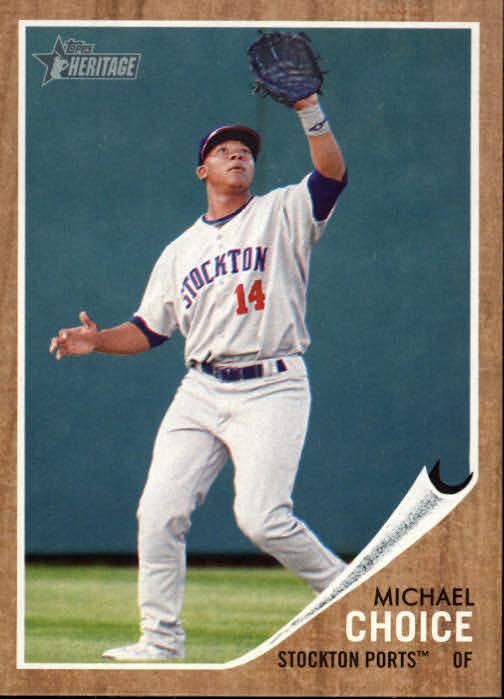 2011 Topps Heritage Minors #7 Michael Choice