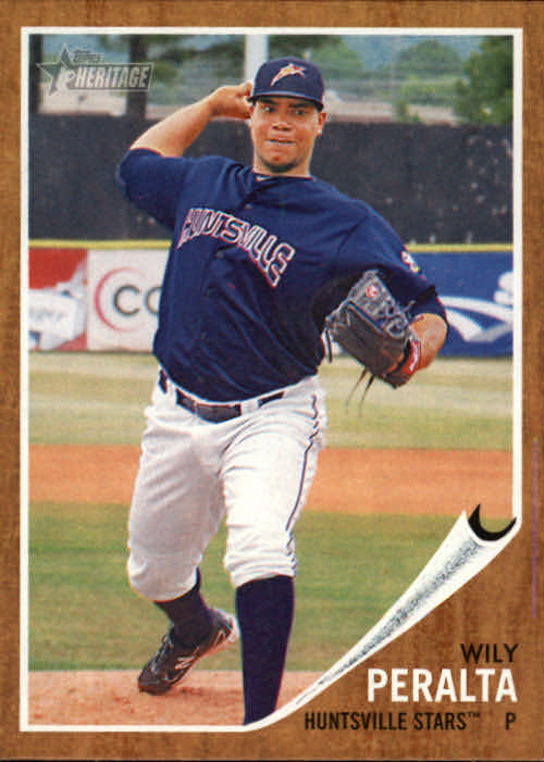 2011 Topps Heritage Minors #14 Wily Peralta