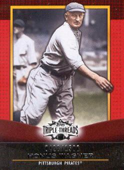 2011 Topps Triple Threads #36 Honus Wagner