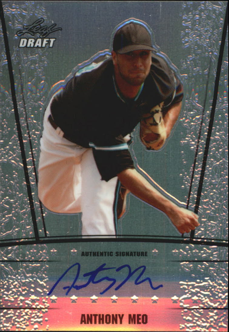 2011 Leaf Metal Draft #AM2 Anthony Meo