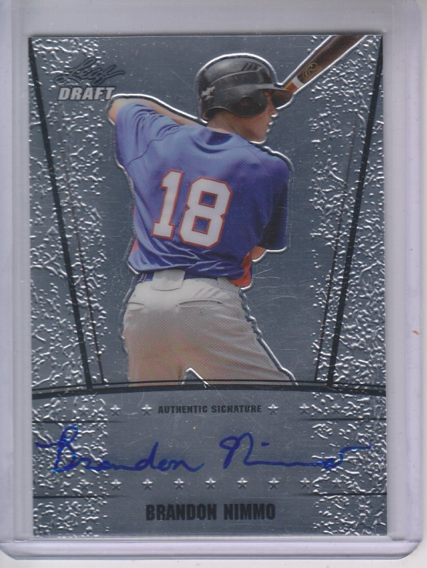 2011 Leaf Metal Draft #BN1 Brandon Nimmo