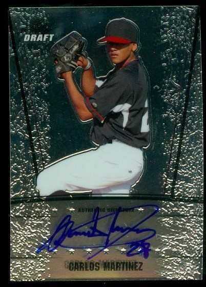 2011 Leaf Metal Draft #CM1 Carlos Martinez