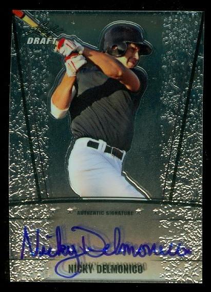 2011 Leaf Metal Draft #ND1 Nicky Delmonico