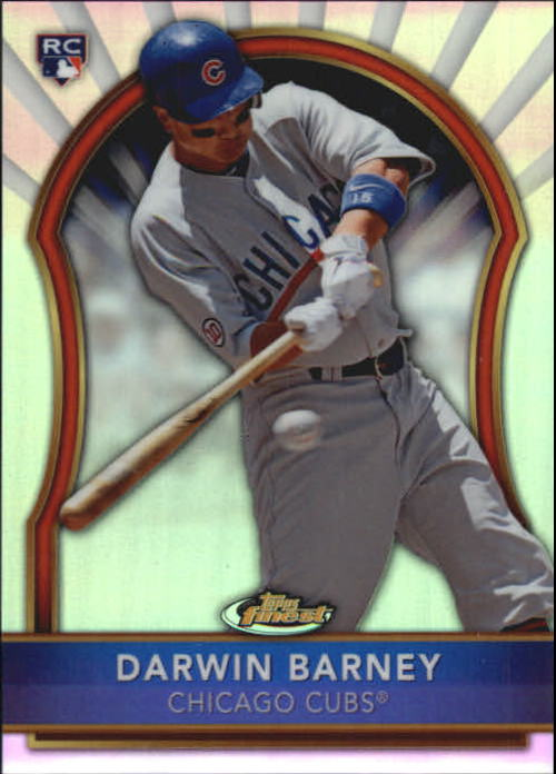 2011 Finest Refractors #92 Darwin Barney