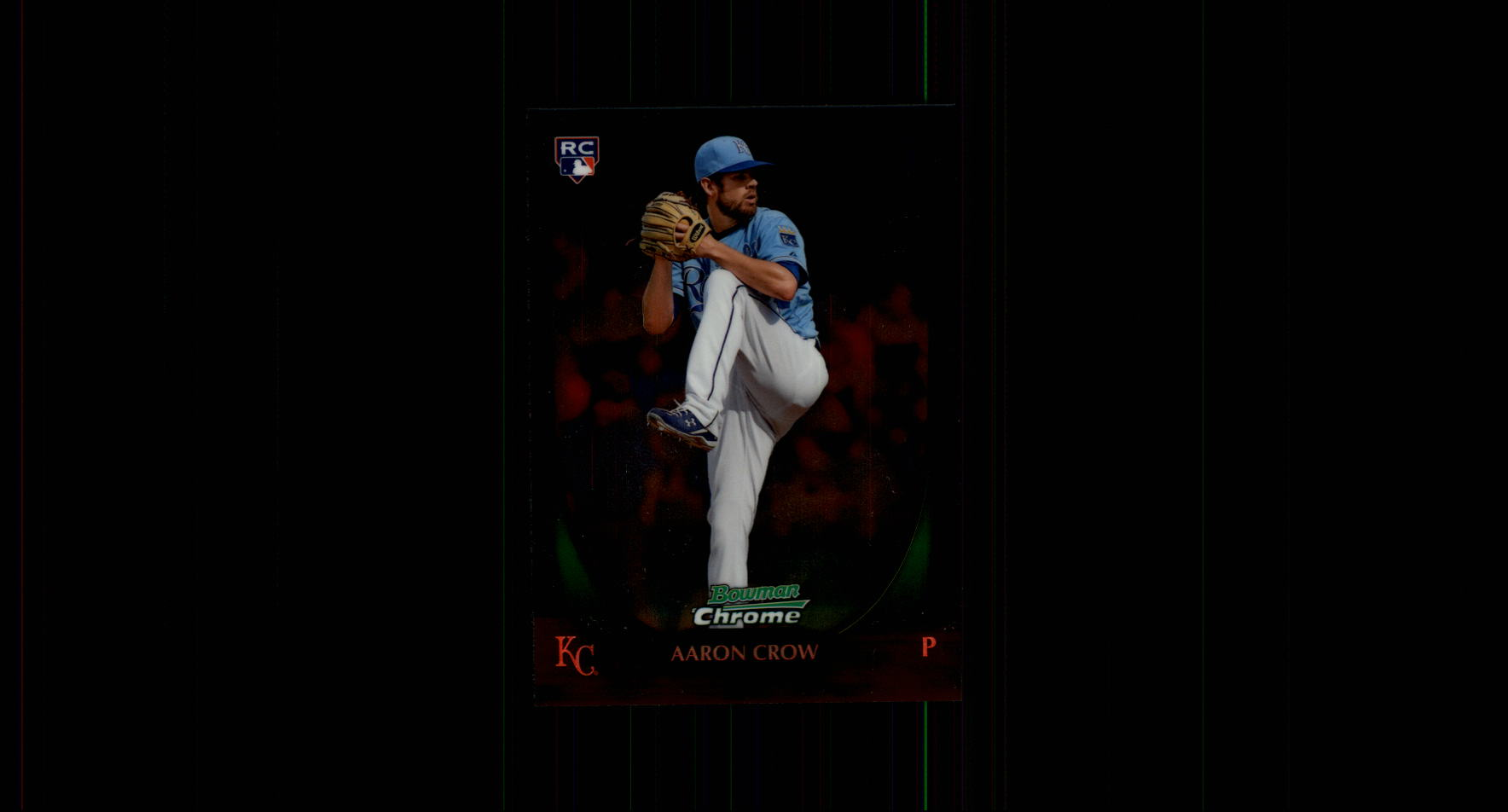2011 Bowman Chrome #220 Aaron Crow RC