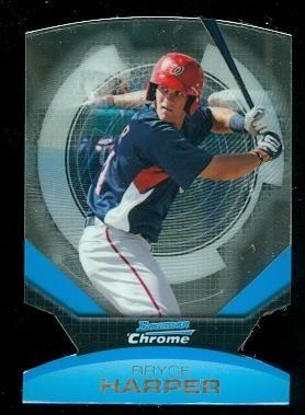 2011 Bowman Chrome Futures #1 Bryce Harper