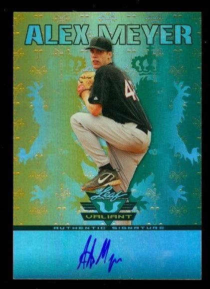 2011 Leaf Valiant Draft #AM1 Alex Meyer