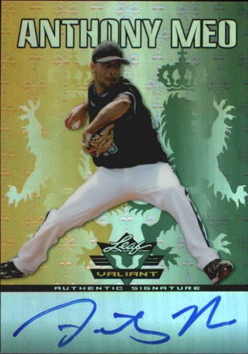 2011 Leaf Valiant Draft #AM2 Anthony Meo