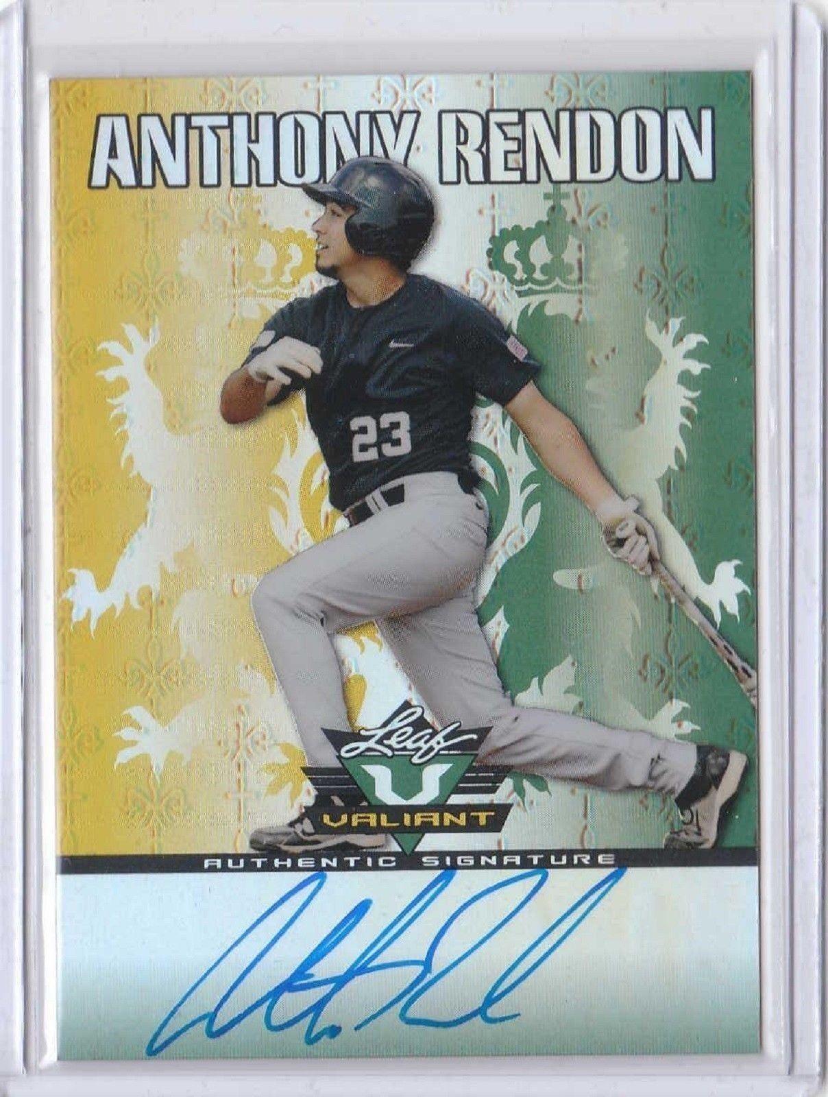 2011 Leaf Valiant Draft #AR1 Anthony Rendon