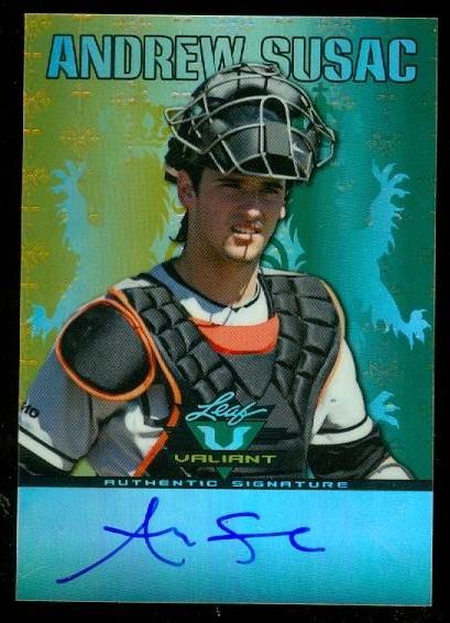 2011 Leaf Valiant Draft #AS1 Andrew Susac