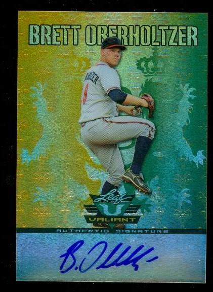 2011 Leaf Valiant Draft #BO1 Brett Oberholtzer