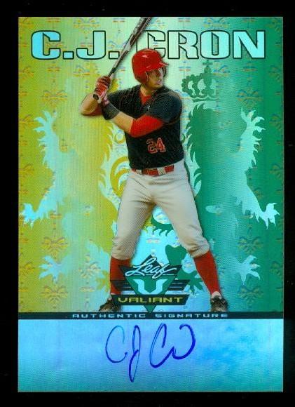 2011 Leaf Valiant Draft #CC1 C.J. Cron