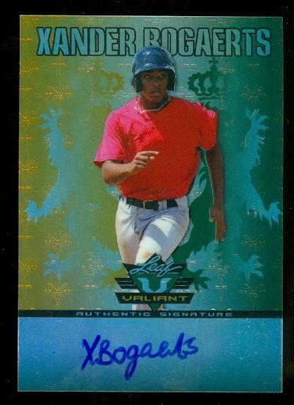 2011 Leaf Valiant Draft #XB1 Xander Bogaerts