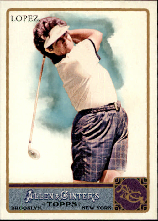 2011 Topps Allen and Ginter Glossy #119 Nancy Lopez