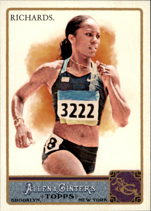 2011 Topps Allen and Ginter Glossy #148 Sanya Richards