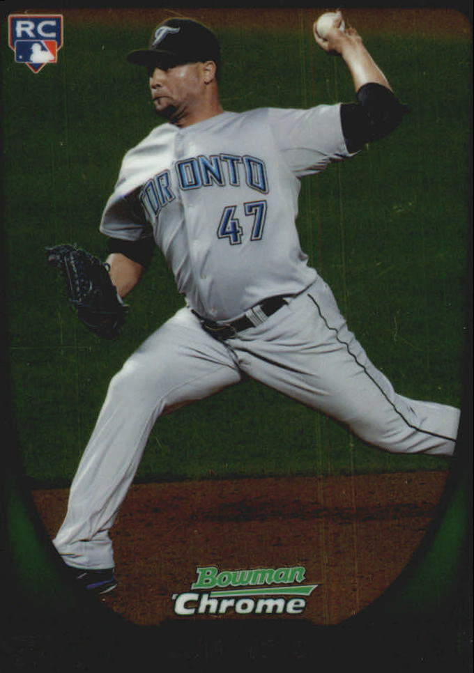 2011 Bowman Chrome Draft #69 Luis Perez RC