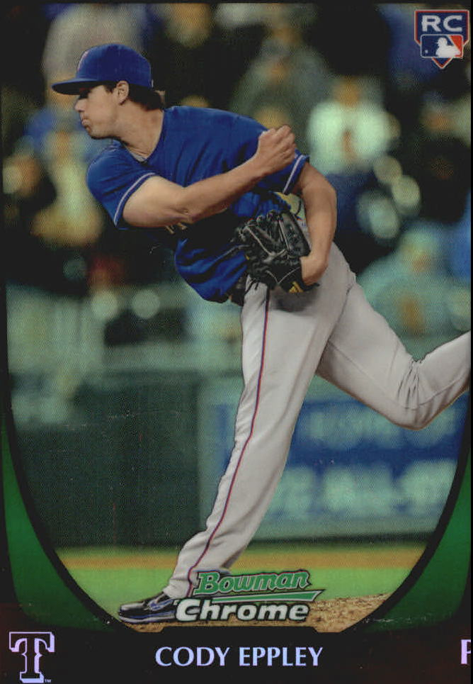 2011 Bowman Chrome Draft Refractors #33 Cody Eppley