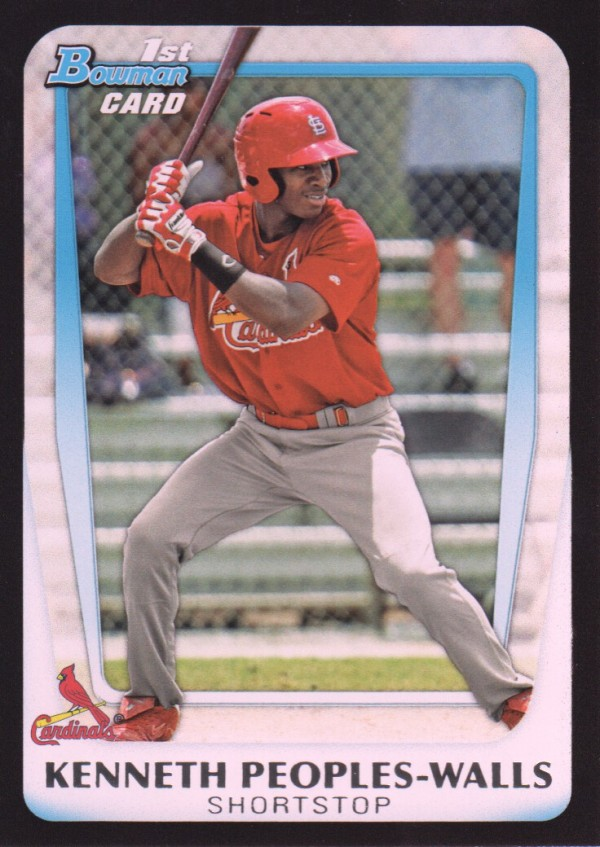 2011 Bowman Draft Prospects #BDPP7 Kenneth Peoples-Walls