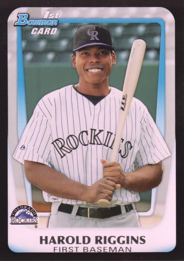 2011 Bowman Draft Prospects #BDPP21 Harold Riggins