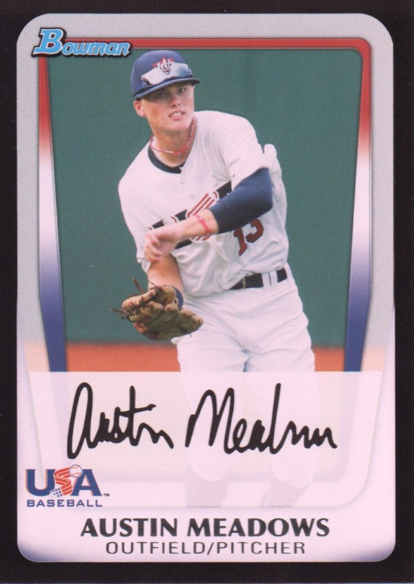 2011 Bowman Draft Prospects #BDPP100 Austin Meadows