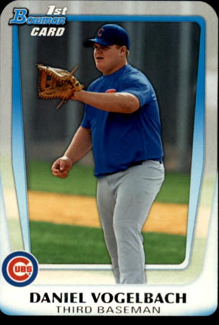 2011 Bowman Chrome Draft Prospects #BDPP10 Daniel Vogelbach