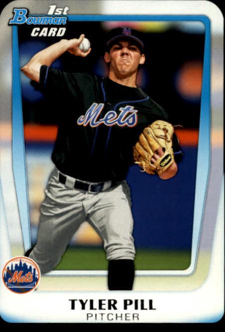 2011 Bowman Chrome Draft Prospects #BDPP17 Tyler Pill