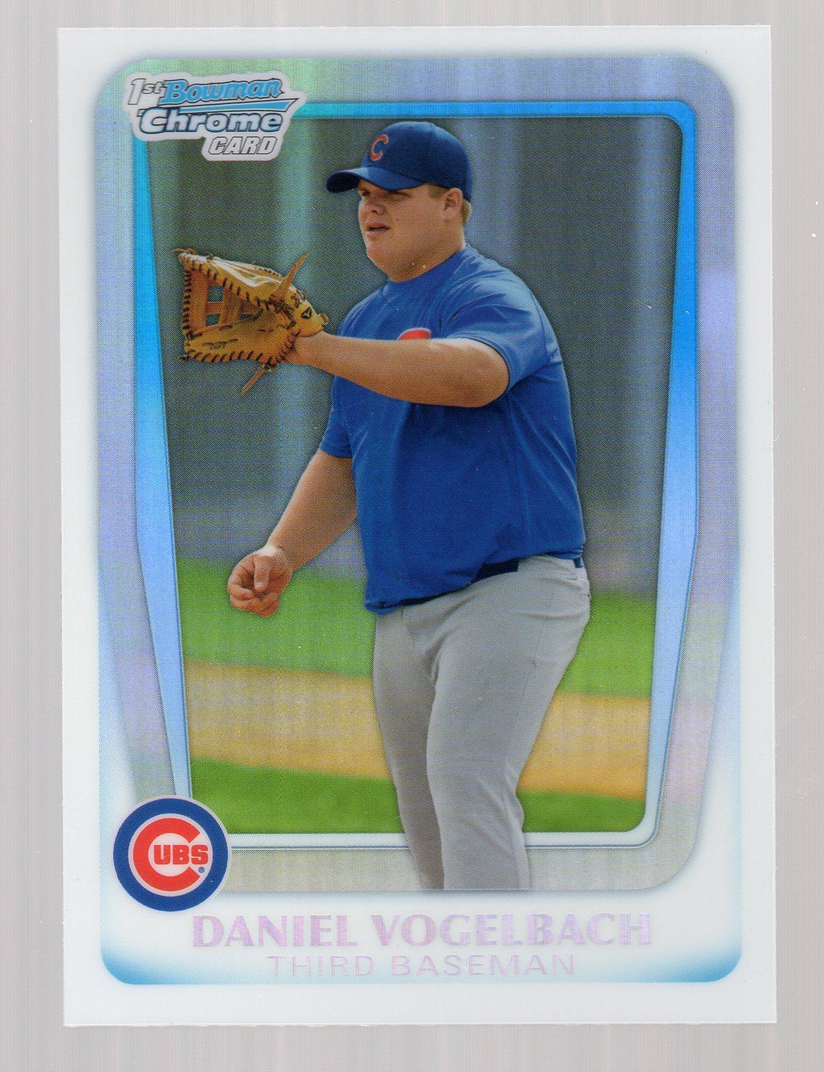 2011 Bowman Chrome Draft Prospects Refractors #BDPP10 Daniel Vogelbach